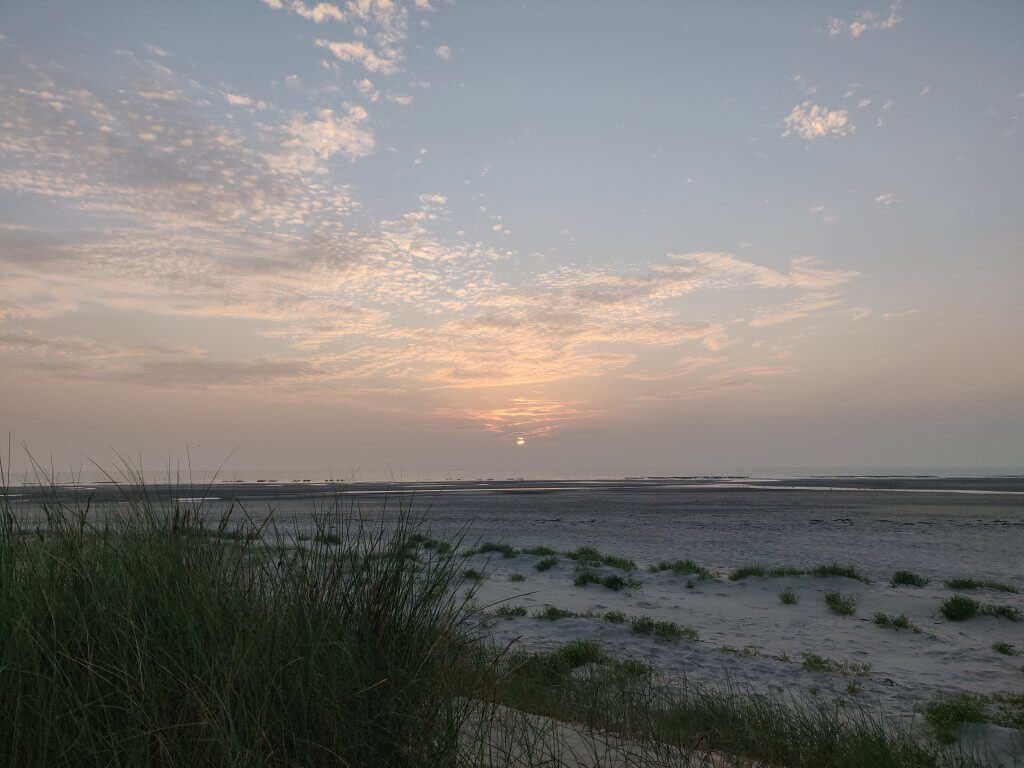 Second coucher de soleil